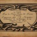 <b>Marin</b> MARAIS - Trio pour flutes, violon & dessus de viole pour la Basse Continue (Edition datée 1692)
