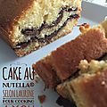 Le Cake au Nutella selon Laurine