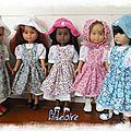 Tenues pour poupées <b>Little</b> <b>darling</b> et petites chéries de Corolle