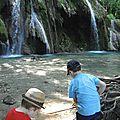 Les belles <b>cascades</b> des Tufs - Les Planches-près-Arbois