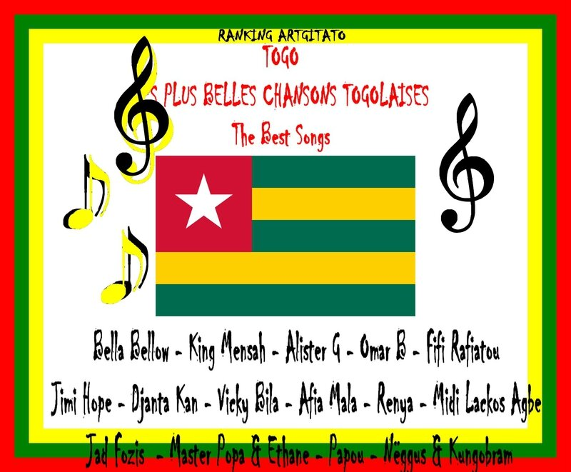 Togo Les Plus Belles Chansons Togolaises The Best Songs Ranging Artgitato