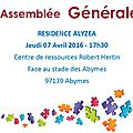 Conseil Syndical Résidence Alyzéa - Abymes
