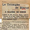 L'ARGUS DE LA PRESSE . 1909.