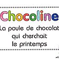 <b>Newsletter</b> n° 42 - avril 2013 : spéciale livre pop-up de Chocoline
