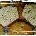 Muffins citron glaçage huile d'olive