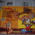 Jeu de construction pour enfants - les briques Teifoc