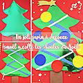 Le sapin de Noël - découpage et <b>collage</b>