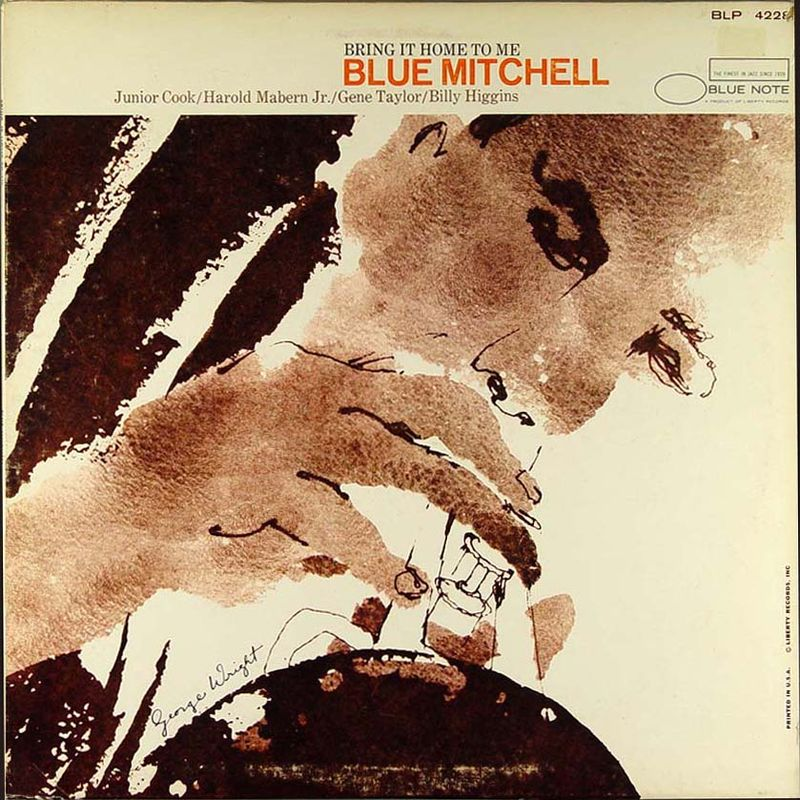 blue mitchell - bring it home to me (sleeve art)