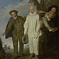 The J. Paul Getty Museum announced today the acquisition of The Italian Comedians (ca. 1720) by Jean-Antoine <b>Watteau</b>