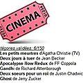 Défi Cinéma Catégorie 94, 28, 72, 39, 92, 84, ... # 6/150