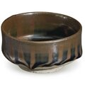 A small russet-striped blackish-<b>brown</b>-glazed bowl, China, Northern Song-Jin Dynasty, 12th-13th century