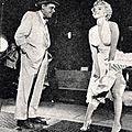 15/09/1954 NYC - Sur le tournage de The Seven Year Itch scène 11