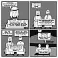Christian geocentrists are embarrassing... - par Jesus and Mo - 12 juillet 2017