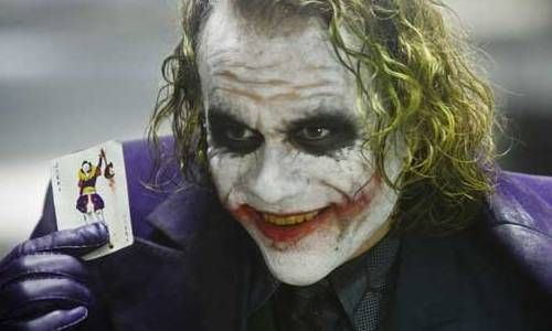 Heath Ledger, un fantastique Joker !!!