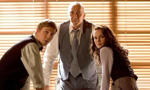 SAM HUNTINGTON, FRANK LANGELLA (au centre) & KATE BOSWORTH