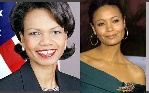 Thandie Newton est Condoleezza Rice