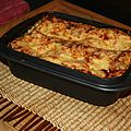 LASAGNE SAUMON EPINARD
