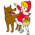 Le chaperon rouge - <b>CONTRIBUTIONS</b> DES <b>ÉTUDIANTS</b>