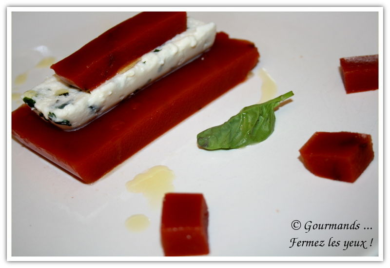 Tomate / Mozzarella qui change !