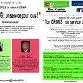 Confédération étudiante de Bourgogne, syndicat, étudiant, université de bourgogne, association étudiante, crous dijon, bourses