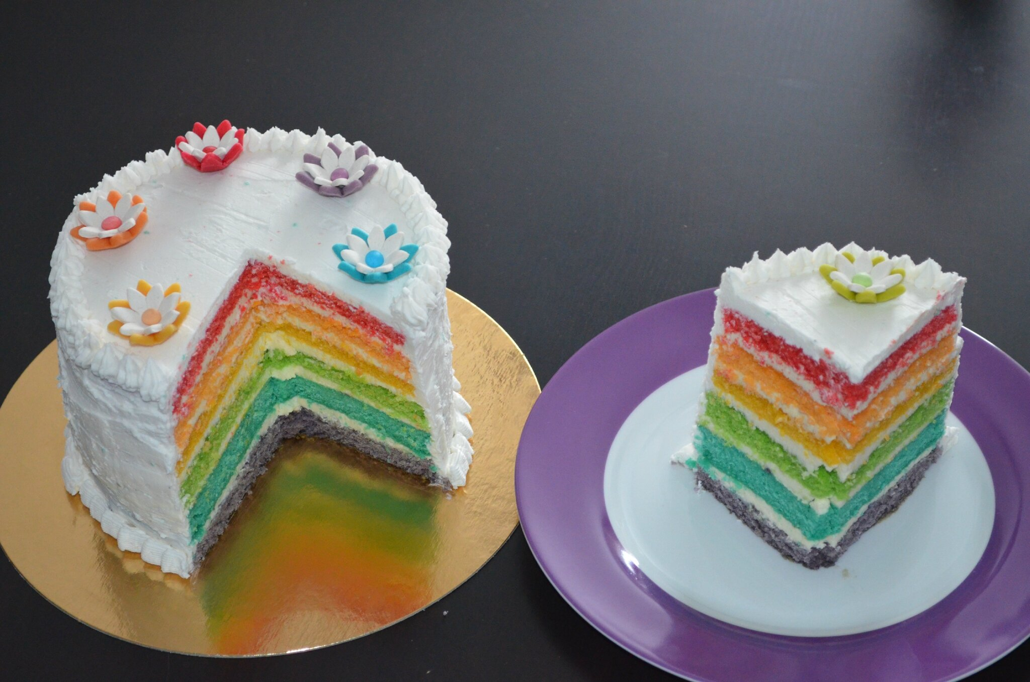 Photo Design On Cake : Un essai au Cake Design - Recette