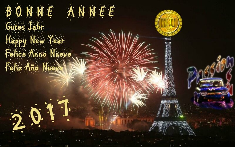 BONNE ANNEE 2017 PASSION NSU
