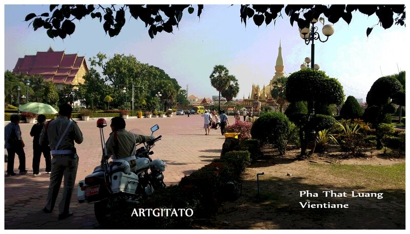 Pha That Luang Vientiane Artgitato 2
