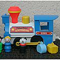 Fisher Price : #2581 Little People Express Train