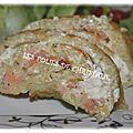 Roulé pommes de terre <b>saumon</b> <b>fumé</b>