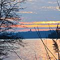 Un <b>coucher</b> de <b>soleil</b> hivernal / A winter sunset