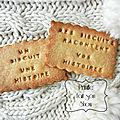 Créez vos <b>biscuits</b> personnalisés ...
