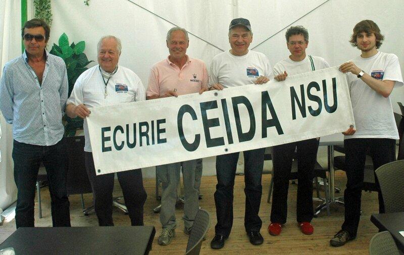 BANDEROLE ECURIE CEIDA NSU 01