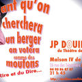 JEAN PATRICK DOUILLON EN <b>SPECTACLE</b>