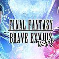 Final Fantasy : un épisode de cette cuvée est dispo sur Facebook Mobile