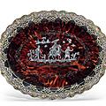 Collection de pièces « en pique » napolitaines d'une famille aristocratique européenne