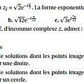 <b>Terminales</b> S - Annales - Exercices de bac S - 11 - Nombres complexes QCM ou Vrai/Faux