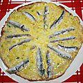 Omelette aux <b>anchois</b>