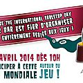 Compte-rendu de l'International Table-Top Day 2014