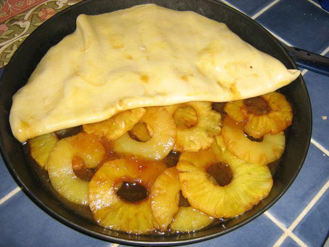 Tatin d 39 ananas pas r gime recette for Regime ananas