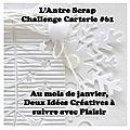 Challenge <b>Carterie</b> n°61 - janvier/février 2017