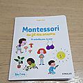 Mercredi Montessori : Montessori au fil des saisons (livre)