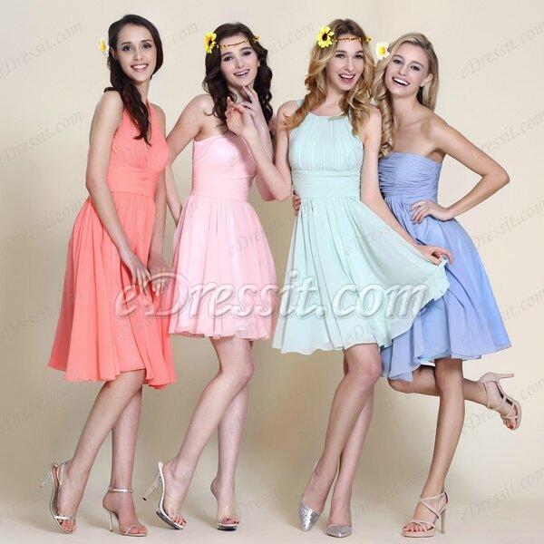 Robe pour mariage invite couleur pastel