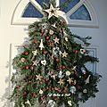 Sapin de Noël de Porte