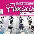 Le 6ème Meeting féminin du Val d'Oise
