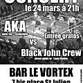 Black John Crew - Streetpunk