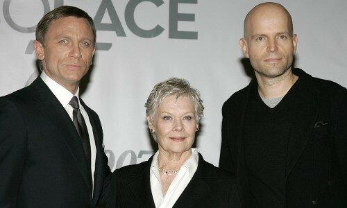 Daniel Craig, Judi Dench et Marc Forster