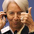 Christine <b>Lagarde</b> le 7 occulte ou le 20/7/2014