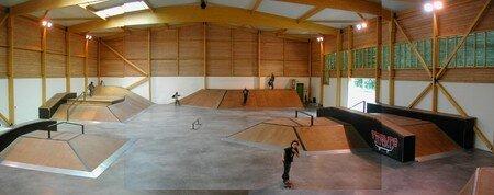 halle de skate val d'orge ancien skatepark