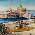 <b>Collection</b> ... La Côte d'Azur NICE * Le jardin Albert-1er et le Palais de la Jetée