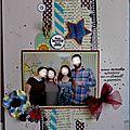 <b>Pages</b> et crop printanière sur Coeur de Scrap
